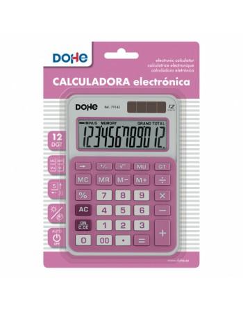 MTL CALCULADORA MEDIANA 145X104X26MM. BURDEOS - 79133