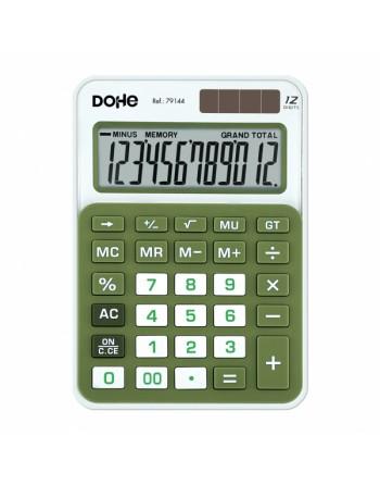 MTL CALCULADORA MEDIANA 145X104X26MM. VERDE - 79134
