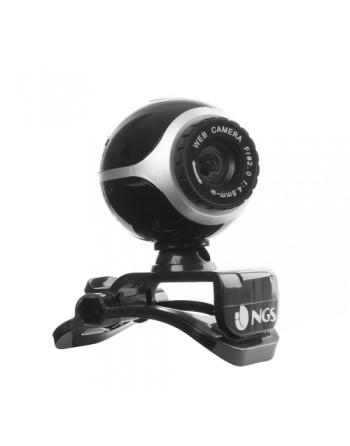NGS XPRESSCAM 300 - WEBCAM - USB 2.0 - CMOS 300KPX - MICRÓFONO - ZOOM - SEGUIMIENTO FACIAL - CAPTURA DE VIDEO E IMAGEN