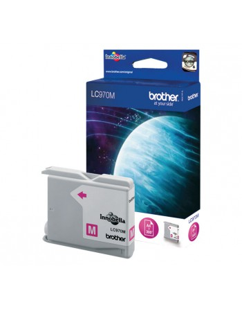 BROTHER INKJET MAGENTA ORIGINAL LC-970M - LC-970M / LC970M