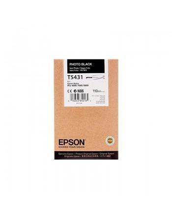EPSON INKJET NEGRO MATE ORIGINAL - C13T543800
