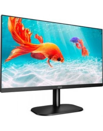 AOC - MONITOR LCD - 21.5 PULG - 1920 X 1080 FULL HD - 250 CD/M2 - 1000:1 - 2 MS - HDMI - DVI - VGA - ALTAVOCES - NEGRO - REGULAB