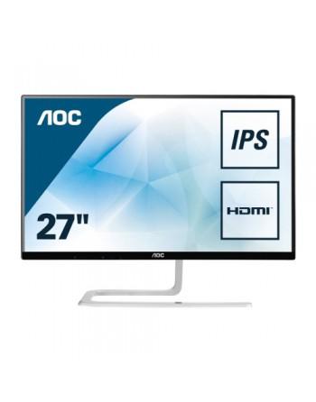 AOC MONITOR LCD - STYLE - 27 PULG - 1920 X 1080 FULL HD - AH-IPS - 250 CD/M² - 1000:1 - 4 MS - 2XHDMI, VGA - NEGRO - I2781FH