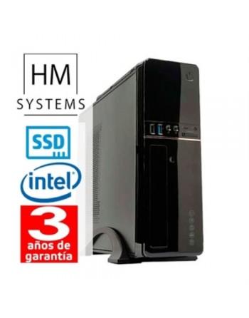HM ABREGO C6+ - SOBREMESA SFF - 10ª GEN - INTEL CORE I3 10100 - 8 GB DDR4 - 480 GB SSD - GRABADORA - LECTOR DE TARJETAS - USB 3.
