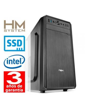 HM-SYSTEMS HM SOLANO C4+ - MINITORRE MT - 9ª GEN - INTEL CORE I5 9400 - 8 GB DDR4 - 480 GB SSD - GRABADORA - LECTOR DE TARJETAS