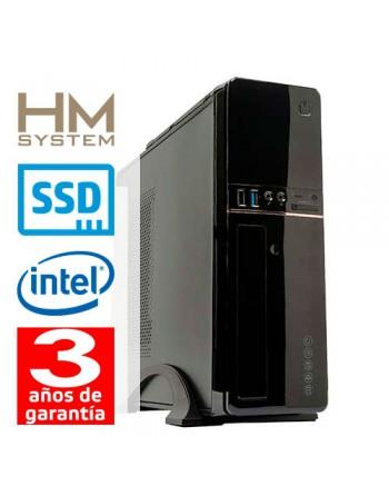 HM-SYSTEMS HM SOLANO C4+ - SOBREMESA SFF - 9ª GEN - INTEL CORE I5 9400 - 8 GB DDR4 - 240 GB SSD - GRABADORA - LECTOR DE TARJETA