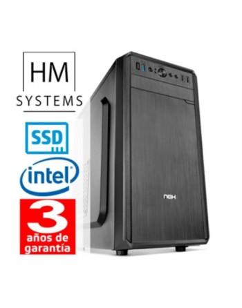 HM-SYSTEMS HM SOLANO C4+ - SOBREMESA SFF - 9ª GEN - INTEL CORE I5 9400 - 8 GB DDR4 - 480 GB SSD - GRABADORA - LECTOR DE TARJETA