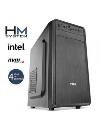 HM-SYSTEMS HM ABREGO C4+ - SOBREMESA SFF - 8ª GEN - INTEL CORE I3 8100 - 8 GB DDR4 - 480 GB SSD - GRABADORA - LECTOR DE TARJETAS