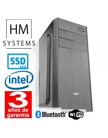 HM SOLANO C5+ - SOBREMESA SFF - 9ª GEN - INTEL CORE I5 9400F - 8 GB DDR4 - 480 GB SSD - GT 710 1 GB DEDICADA - GRABADORA - LECTO