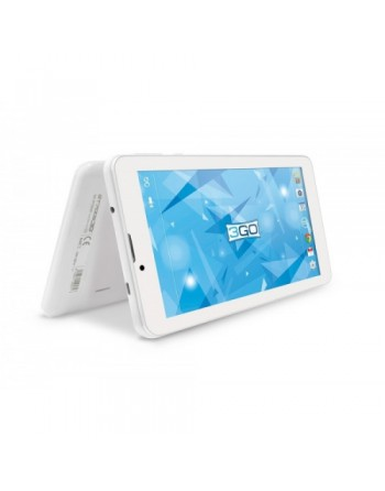 3GO - TABLET GT7005 - 7 PULG 1024X600 - QUAD CORE - 1GB - 16GB - ANDROID 8.1 - 3G - BLANCO