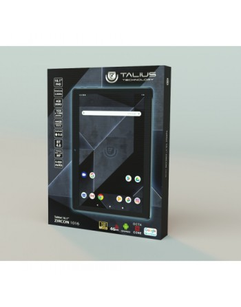 TALIUS - TABLET ZIRCON 1016 4G - 10,1 PULG IPS - OCTA-CORE CORTEX A53 2.0 GHZ - 1920X1200 - ANDROID 9 - 4GB DDR3 - 64GB NAND FLA
