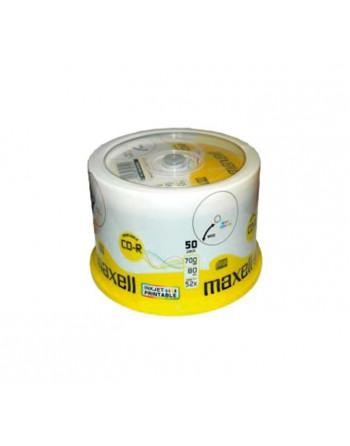 MAXELL BOBINA 50UN CD-R 700MB 52X PRINTABLE - MXP50C