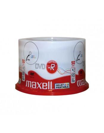 MAXELL BOBINA 50UN DVD-R 4,7GB 16X IMPRIMIBLE - 275701
