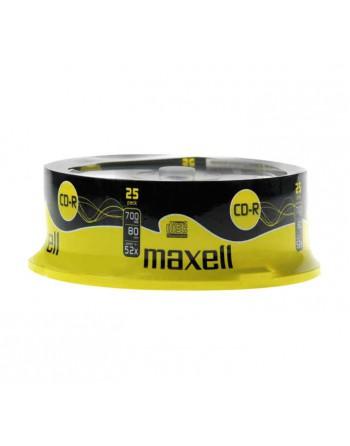 MAXELL BOBINA 25UN CD-R 700MB 52X SPINDLE - 628522
