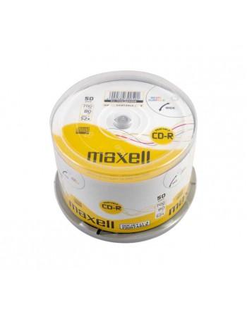 MAXELL BOBINA 50UN CD-R 700MB 52X IMPRIMIBLE - 624006