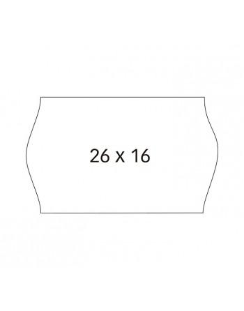 APLI PACK 6 R. ETIQUETA REM. 26X16 S. BLISTER SINUSOIDAL - 100923