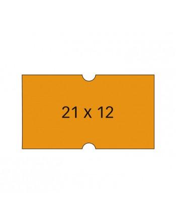 APLI PACK 6 ROLLOS 1000 ETIQUETA 21X12 FLUO PERM RECT - 100912