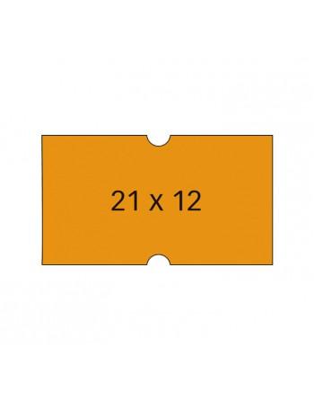 APLI PACK 6 ROLLOS 1000 ETIQUETA 21X12 FLUO REM. - 101566