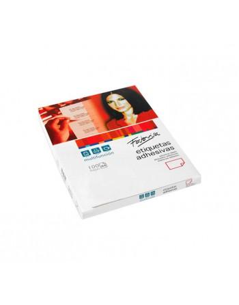 FABRISA PACK 100 ETIQUETAS ADHESIVA C/ROMOS 100H A4 199,6X289 - 9119281