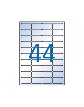 APLI B.10H ETIQUETA TRANSPARENTE 48.5X25.4MM 44ETIQ/H - 10050