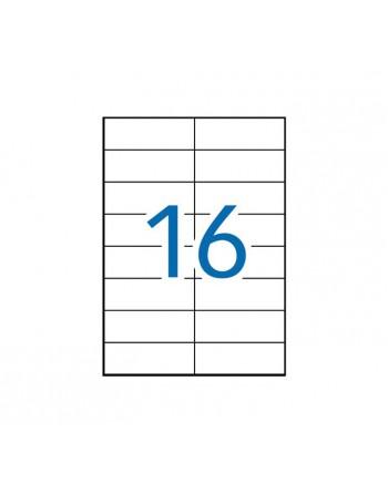 APLI 100 HOJAS A4 ETIQUETAS ILC RECICLA105X37MM - 12065