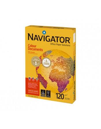 NAVIGATOR PACK 250 HOJAS PAPEL 120 GR A4 COLOUR DOCUMENT. - 108812