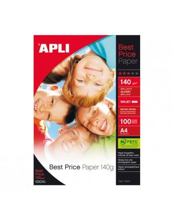 APLI PAPEL BEST PRICE 100H 4A INKJET 140G - 11804