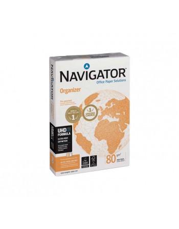 NAVIGATOR DE 5 PAQUETE UE500 HOJAS PAPEL A4 ORGANIZER A4 80G 2T - NAVIGATOR A4 2T