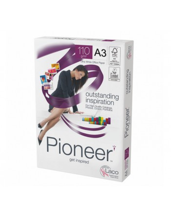 PIONEER PACK 250H PAPEL BLANCO OUTSTANDING INSPIRATION A3 110GR - 2418.10