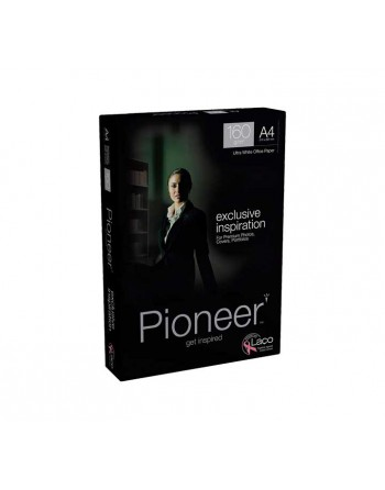PIONEER PACK 250H PAPEL BLANCO EXCLUSIVO VERDE INSPIRATION A4 160GR - 2418.11