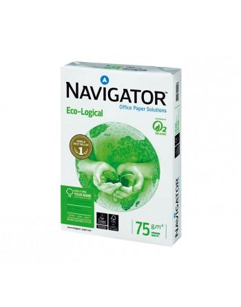 NAVIGATOR CAJA 5 PAQUETES DE 500H PAPE RECICLADO LECO-LOGICAL A4 75G - 108803