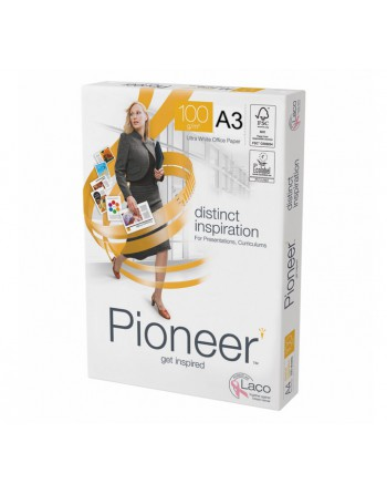 PIONEER PACK 250 HOJAS DISTINCT INSPIRATION A3 100GR - 2418.5