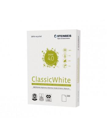 STEINBEIS 5 PAQUEDE 500H PAPEL RECICLADO CLASSIC WHITE A3 80GR - 248011