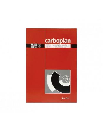 GRAFOPLAS 100 100 HOJAS PAPEL DE CALCAR CARBOPLAN NEGRO ESCRIB - 72000110