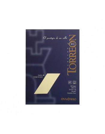 CANSON PACK 100H A4 PAPEL TORREON VERJURADO 90G HUESO - C200407319