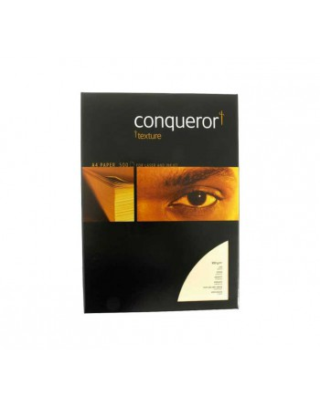 MMC PACK 500H PAPEL VERJURADO CONQUEROR MARFIL A4 100GR - 313242