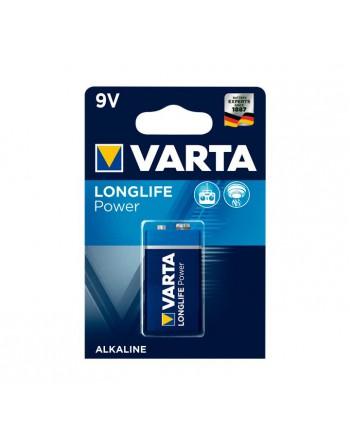 VARTA BLISTER 1 PILA ALCALINA 9V 6LR61 - 4922121411