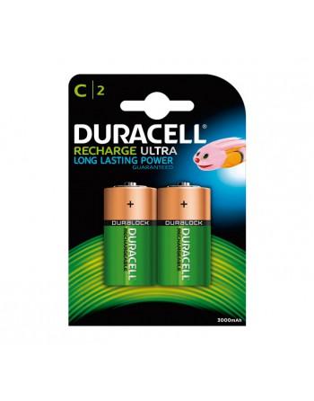 DURACELL BLISTER 2 PILAS RECARGABLES C HR14 - 758401