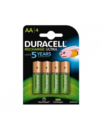 DURACELL BLISTER 4 PILAS RECARGABLES STAYCHARGE AA - 894792