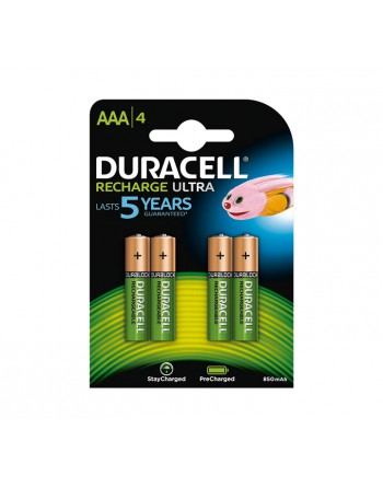 DURACELL BLISTER 4 PILAS RECARGABLES STAYCHARGE AAA - 894784