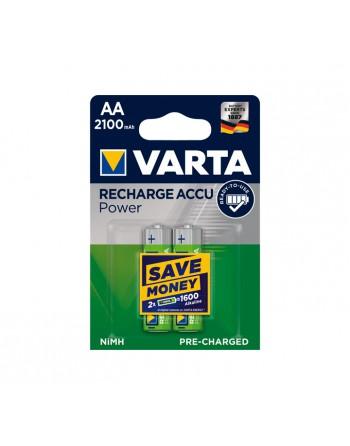 VARTA BLISTER 2 PILAS RECARGABLES AA HR6 - 56706101402