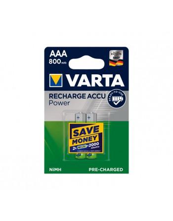 VARTA BLISTER 2 PILAS RECARGABLES AAA HR03 - 56703101402