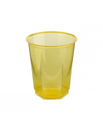 NUPIK BOLSA 10 VASOS GLASS 250CC AMARILLO - 100163