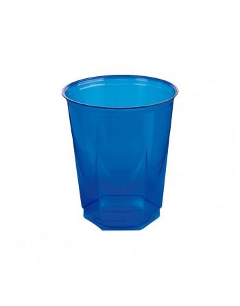 NUPIK BOLSA 10 VASOS GLASS 250CC AZUL - 2168