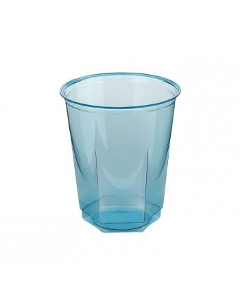 NUPIK BOLSA 10 VASOS GLASS 250CC AZUL TURQUESA - 2203