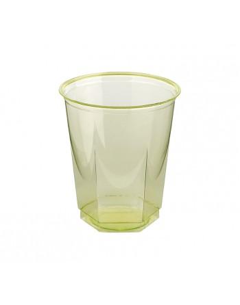 NUPIK BOLSA 10 VASOS GLASS 250CC VERDE - 1857