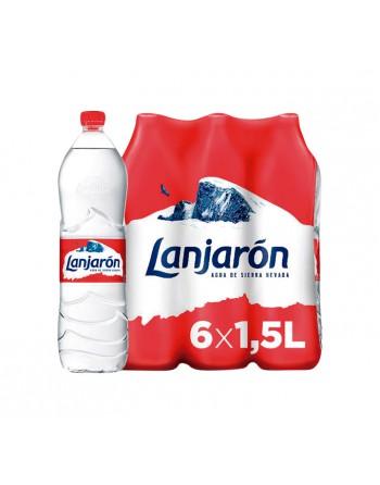 LANJARON PACK 6 BOTELLAS AGUA MINERAL 1.5L - 4156