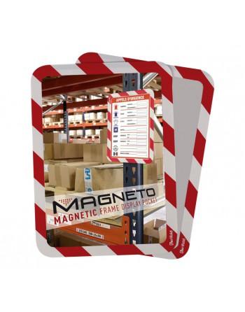 TARIFOLD 2U MARCO SEGURIDAD MAGNETO RO/BL - 194973