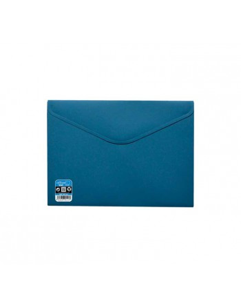 OFFICE BOX SOBRE V-LOCK VELCRO VITAL COLOR A4+ AZUL - 90118-A