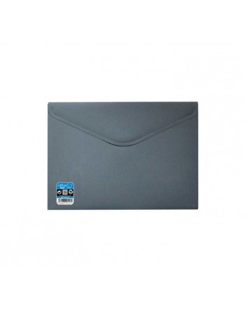 OFFICE BOX SOBRE V-LOCK VELCRO VITAL COLOR A4+ GRIS - 90118-G